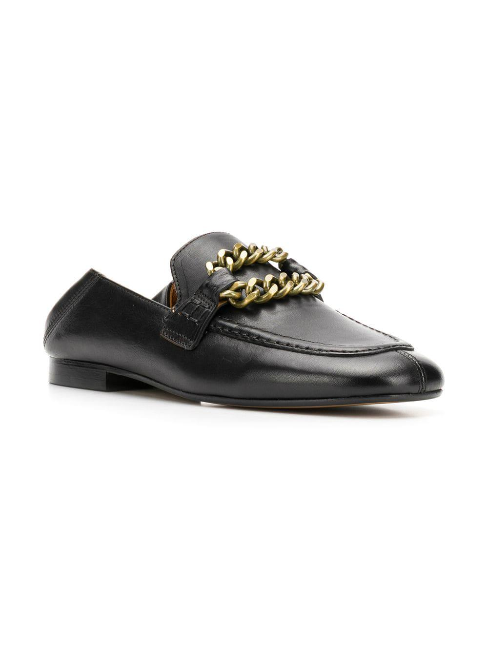 446dfecc61f Lyst - Isabel Marant Firlee Loafers in Black