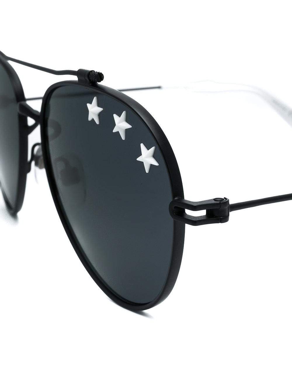 11052e5273 Givenchy Star Studded Aviators in Black for Men - Lyst