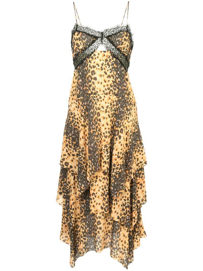 Manning Cartell Jaguar Print Camisole Dress in Metallic - Lyst 3914bab44