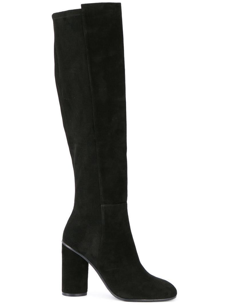 6316ceddbc3 Lyst - Stuart Weitzman Eloise Boots in Black