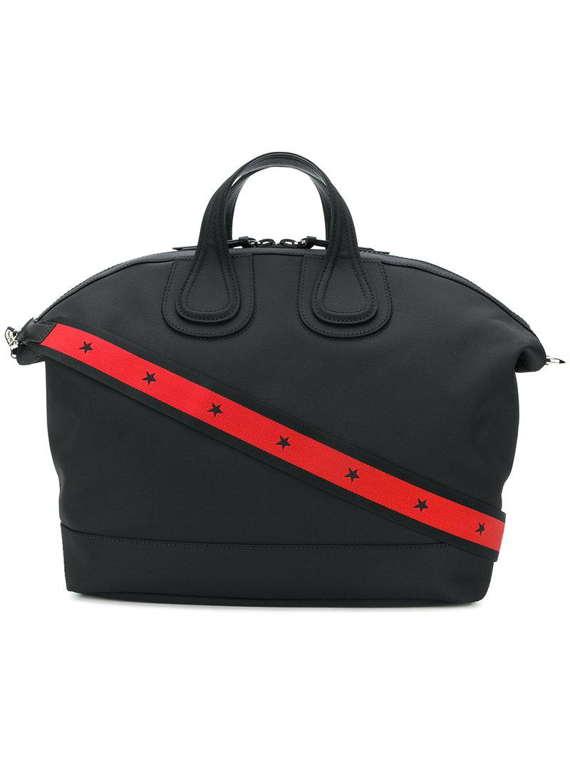 Givenchy Nightingale Holdall Tote in Black for Men - Save ... 4ed6ed833065b