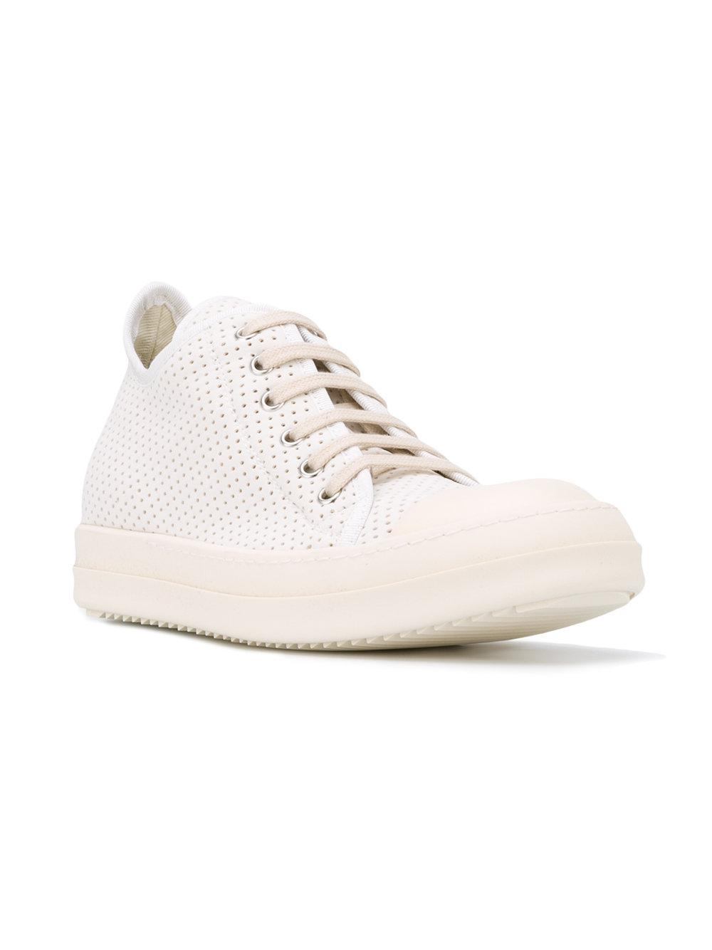 Really Official For Sale Rick Owens Perforated sneakers Discount Recommend QWTXe8