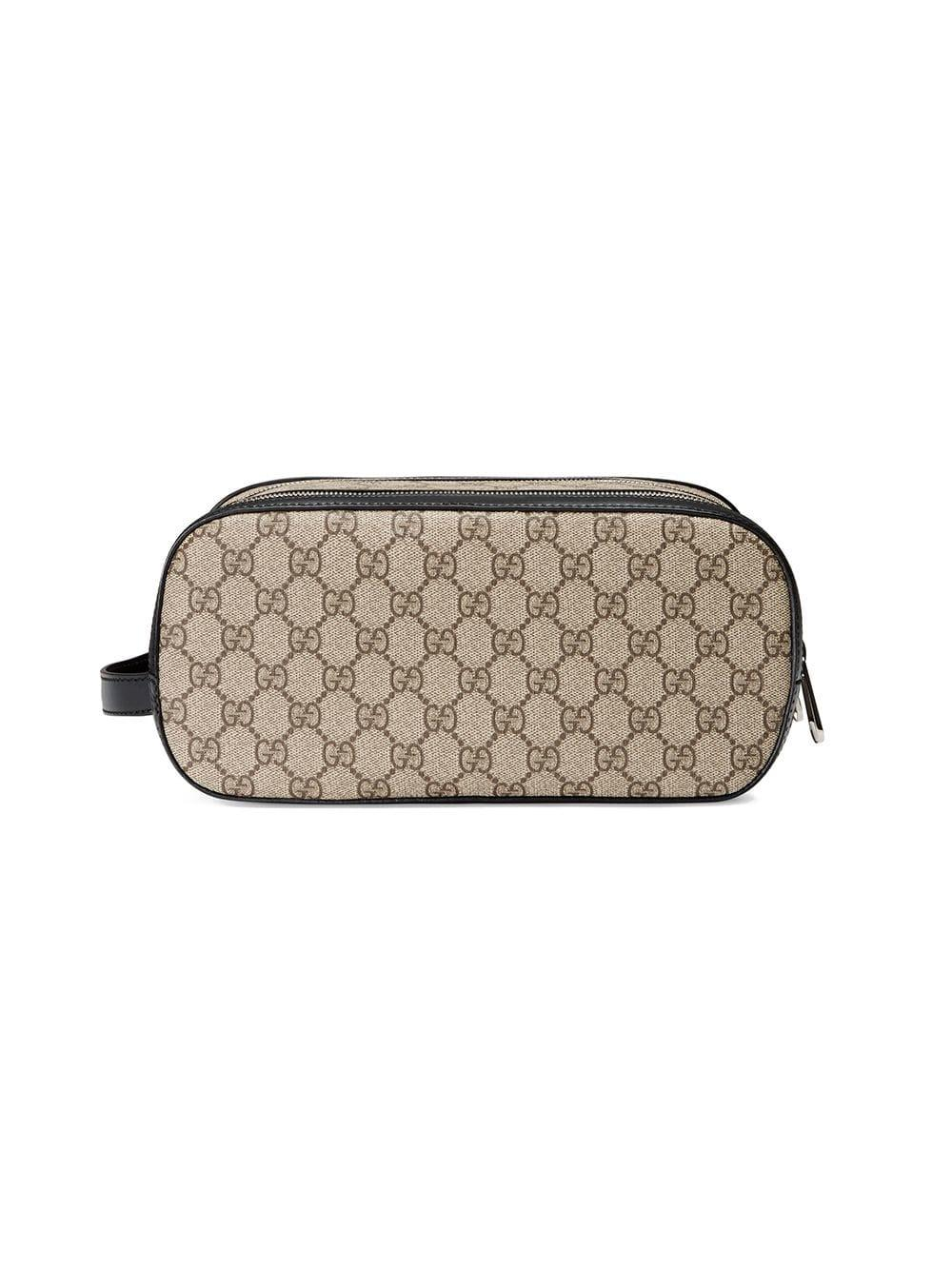 f7e32809f89e Gucci GG Supreme Toiletry Case for Men - Lyst