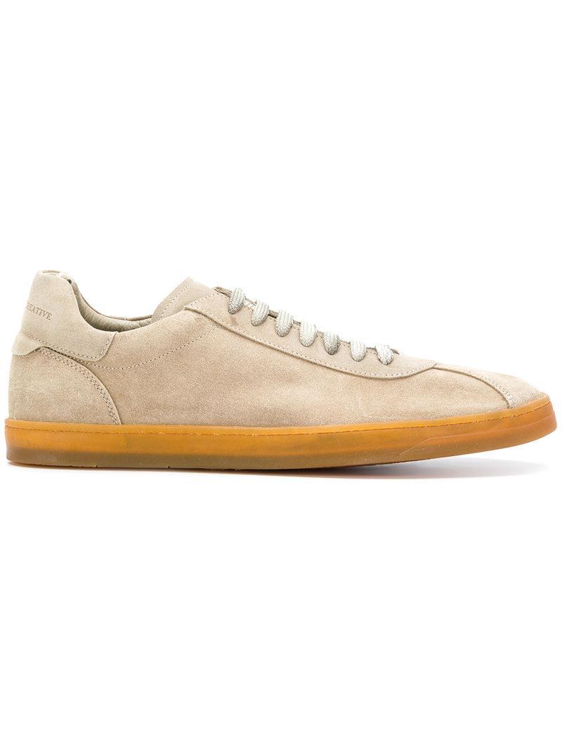 Karma low-top sneakers - Grey Officine Creative hiWUsbiW
