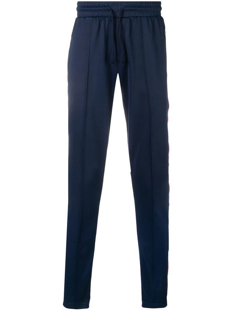 de9727a4425 Lyst - Pantalones de chándal con cinta del logo Tommy Hilfiger de ...