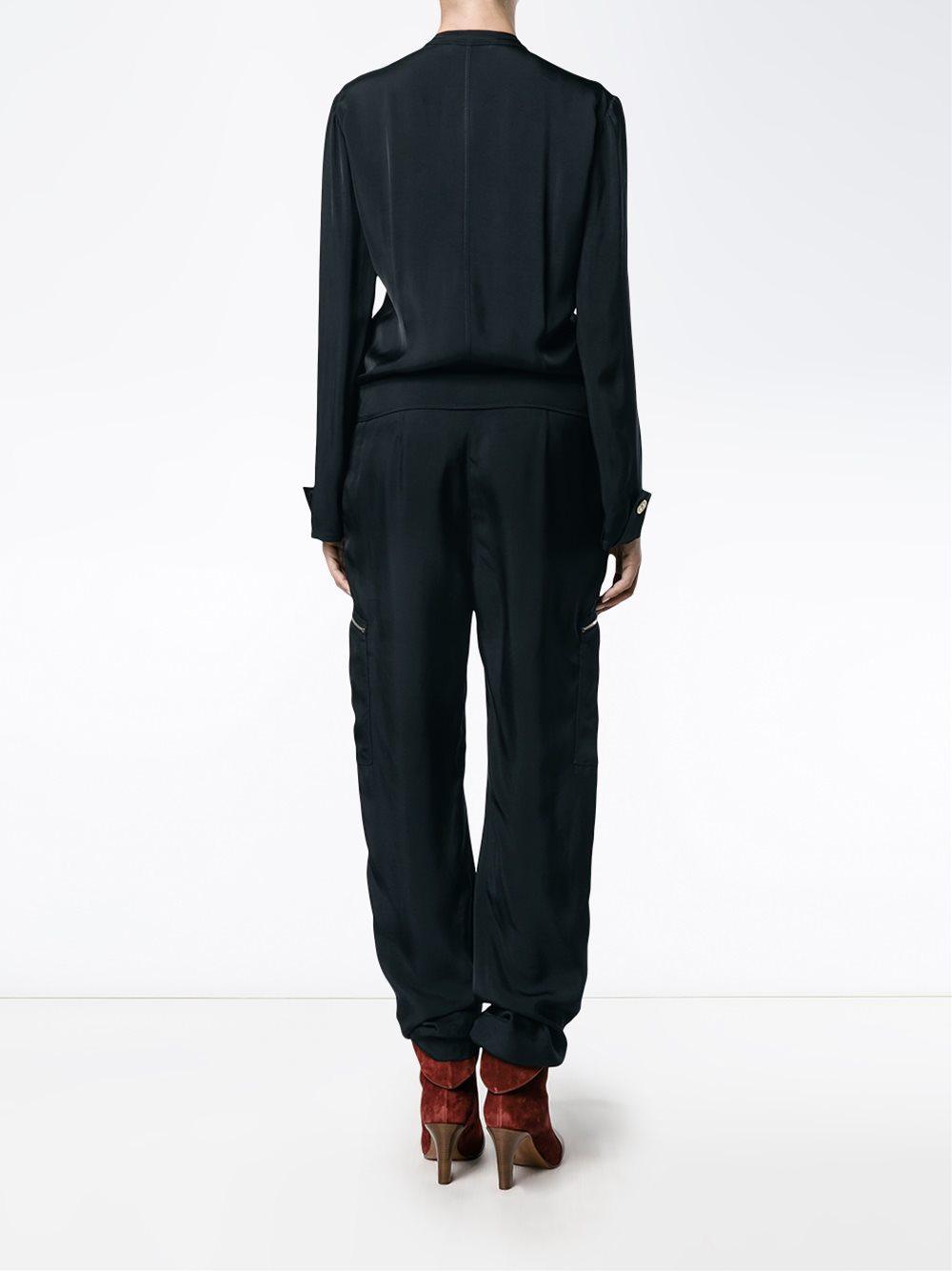 Sale Factory Outlet Buy Cheap Prices zip front jumpsuit Blue Chloé ...