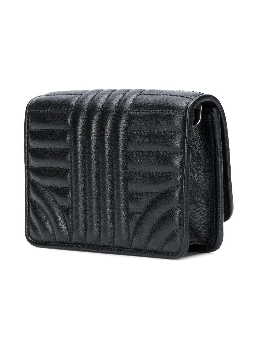 5049764759f0 Prada Logo Quilted Shoulder Bag - Best Quilt Grafimage.co