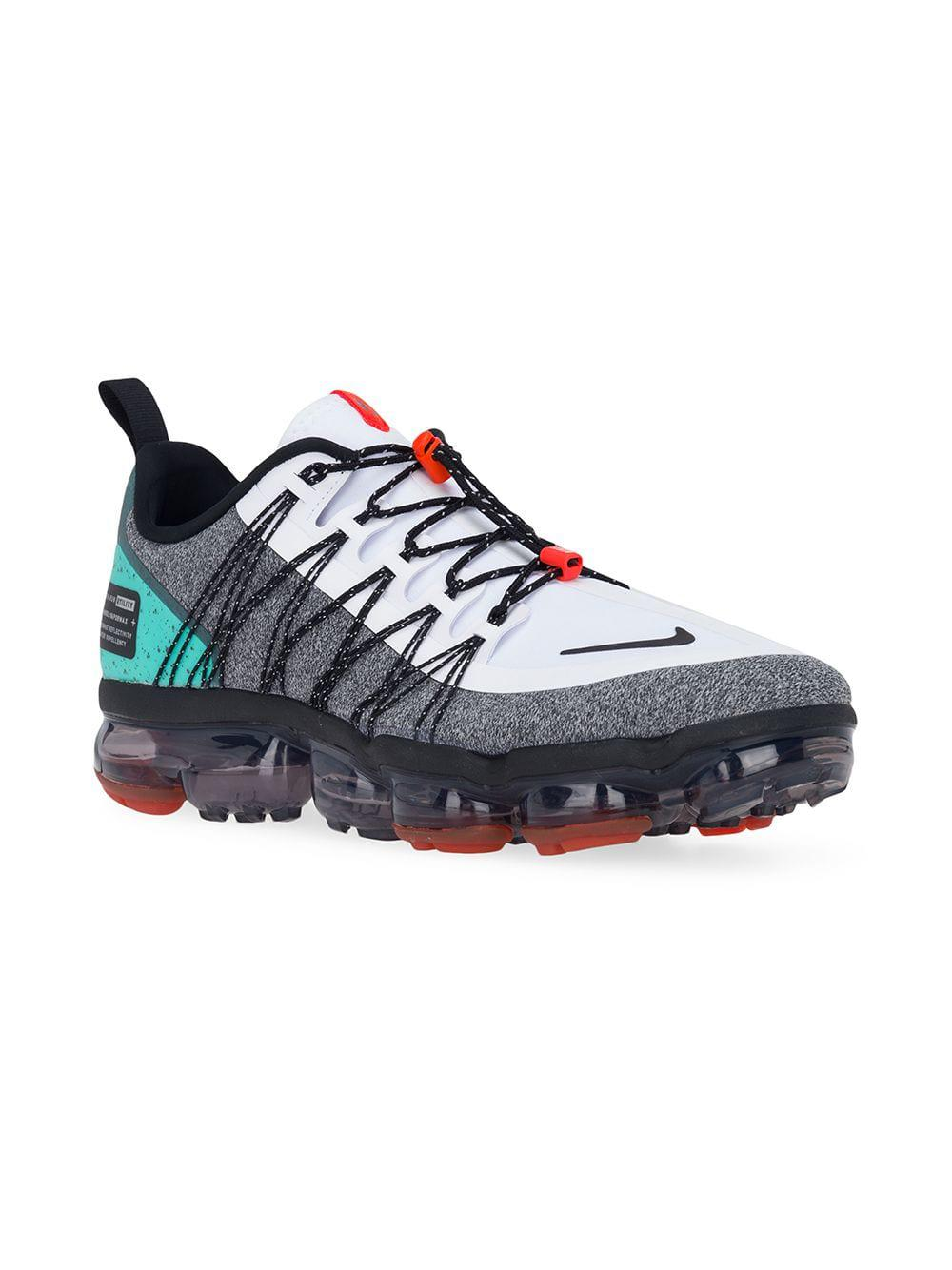 06bf5e3f3e Lyst - Nike Air Vapormax Run Utility Sneakers in White for Men - Save 50%