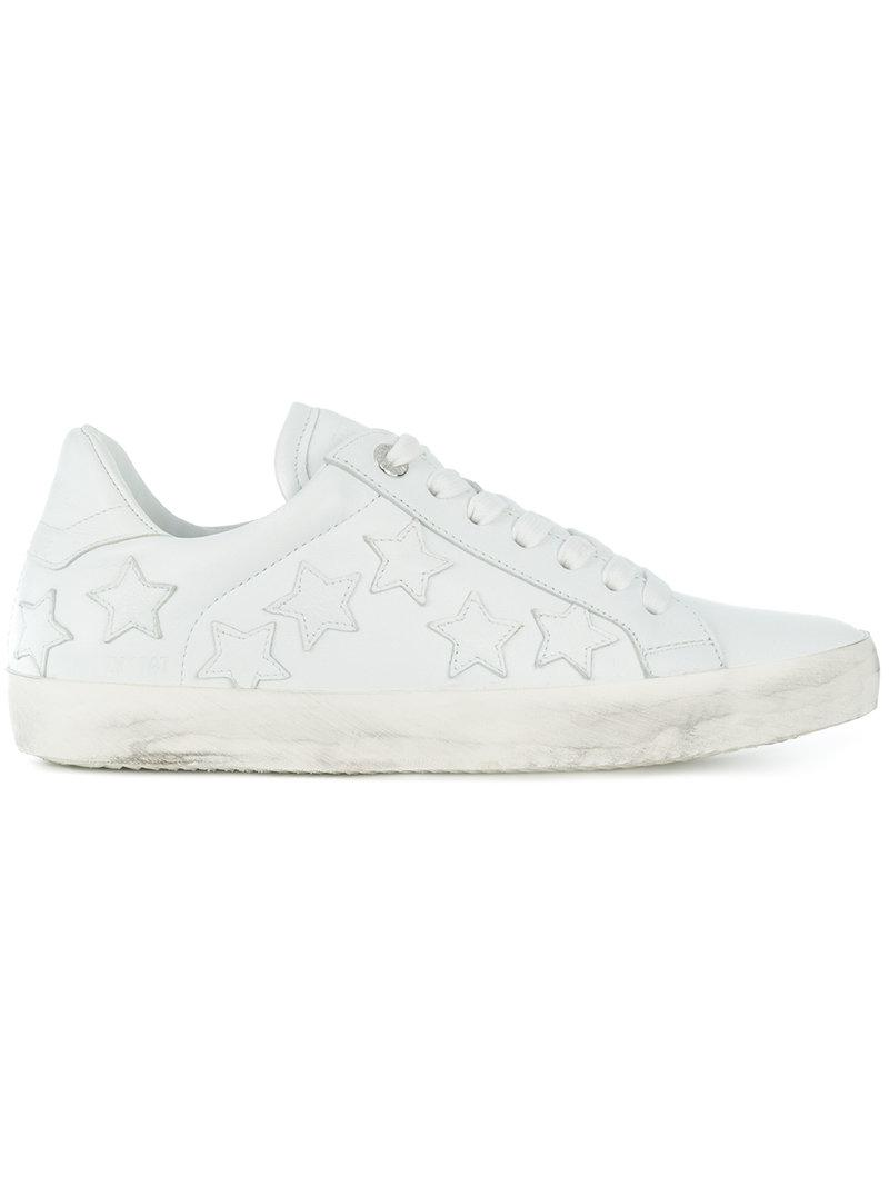 star patches sneakers - White Zadig & Voltaire fxGE8Xn