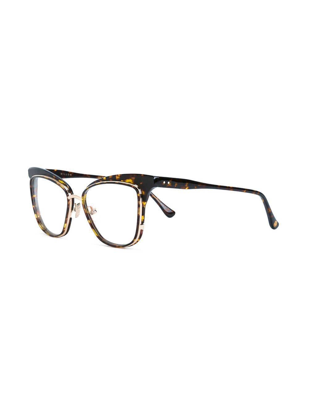 174b6e3bbe0 Lyst - Dita Eyewear  willow  Glasses in Brown