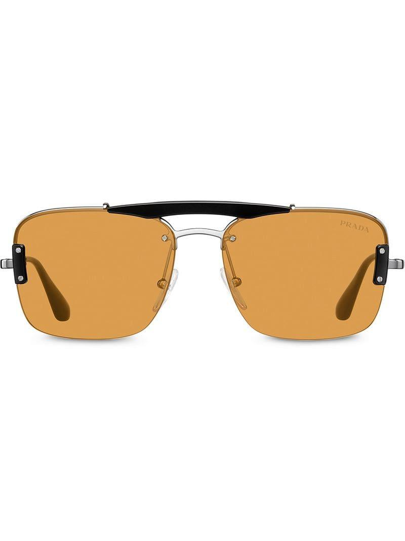 1a38f2b19f Lyst - Gafas de sol Collection Prada de hombre