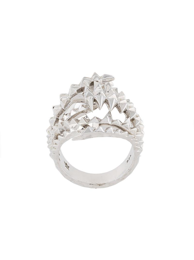 Kasun London Octopiri ring - Metallic oHu6SbMdyM
