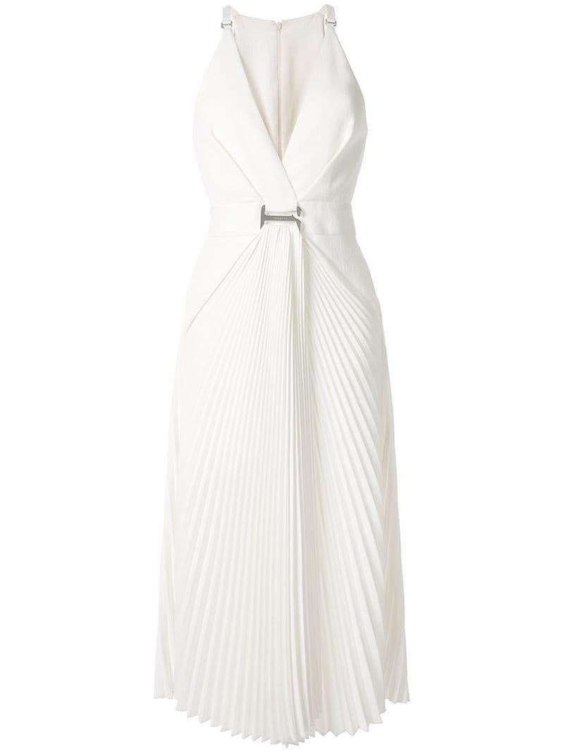 d387440237 Lyst - Dion Lee Suspended Sunray Dress in White