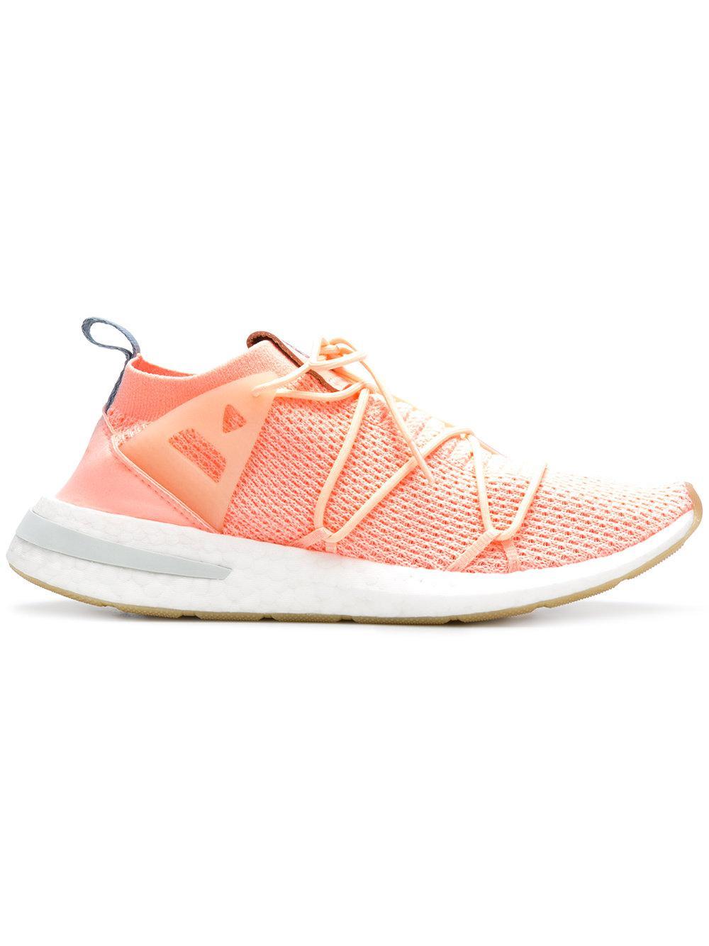 lyst adidas arkyn primeknit scarpe rosa