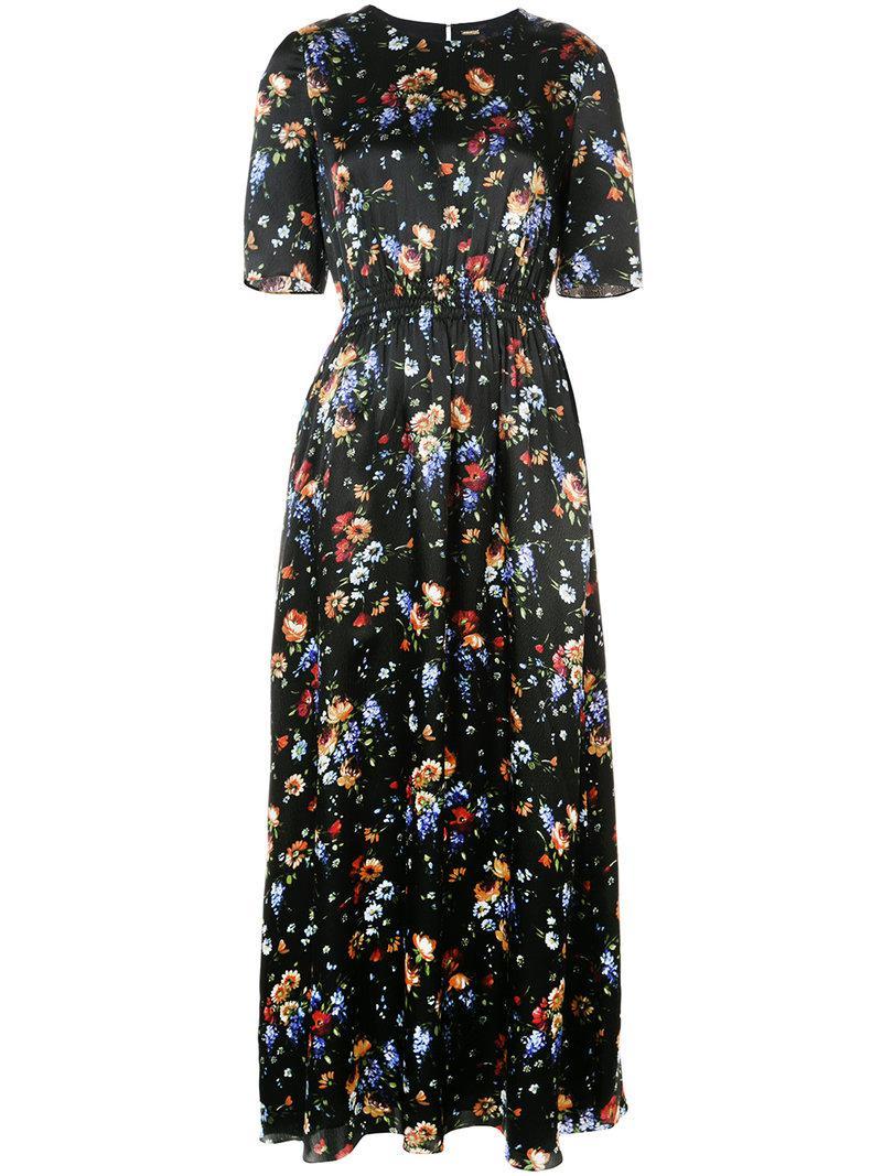 floral-print smocked maxi dress - White Adam Lippes 38zvv4