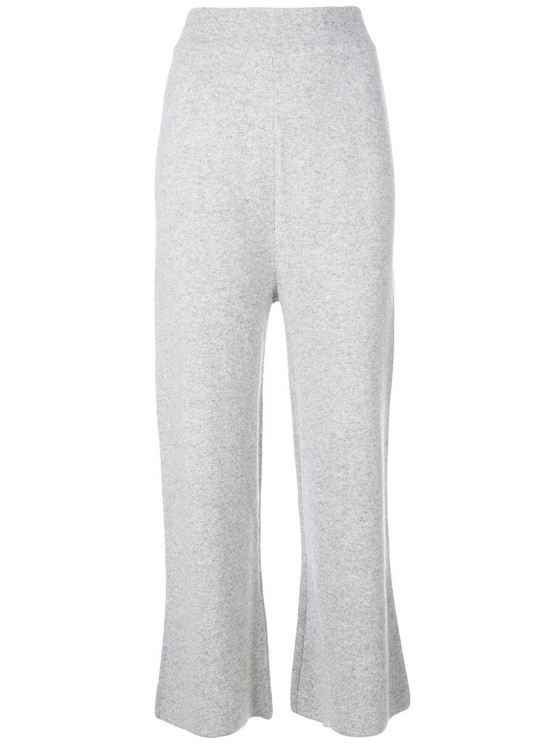 India knit trousers - Grey Le Kasha sV2NOAR