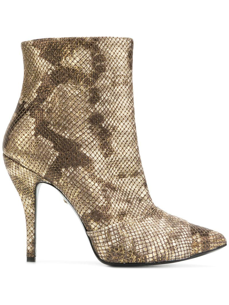 Just Cavalli snakeskin effect boots buy cheap price tumblr for sale buy cheap factory outlet mKmXP3d3E0