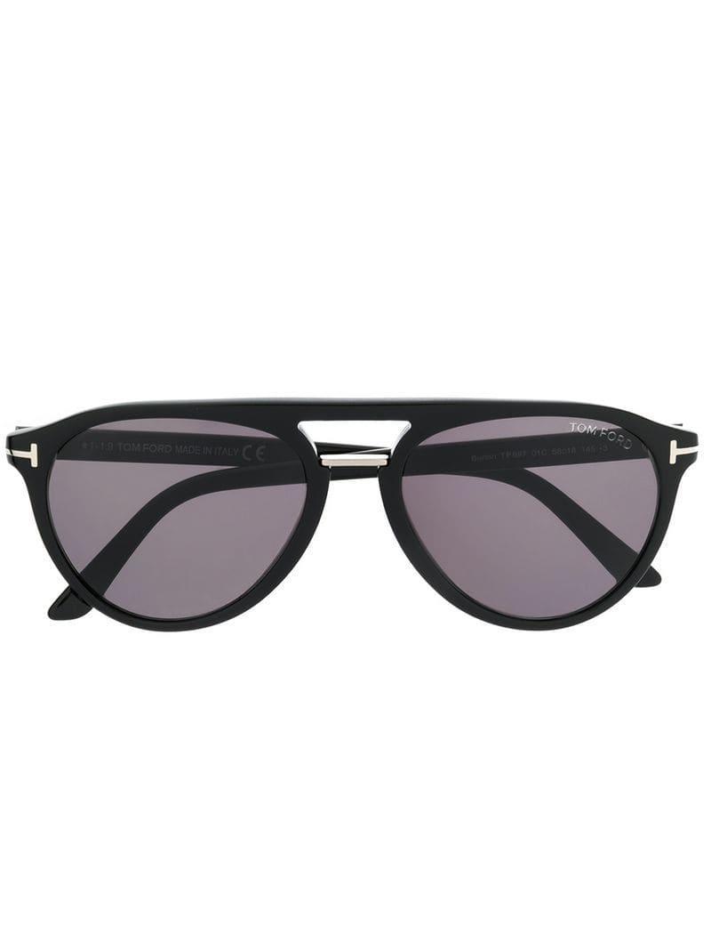 3d6f0025a73 Tom Ford - Black Burton Sunglasses for Men - Lyst. View fullscreen