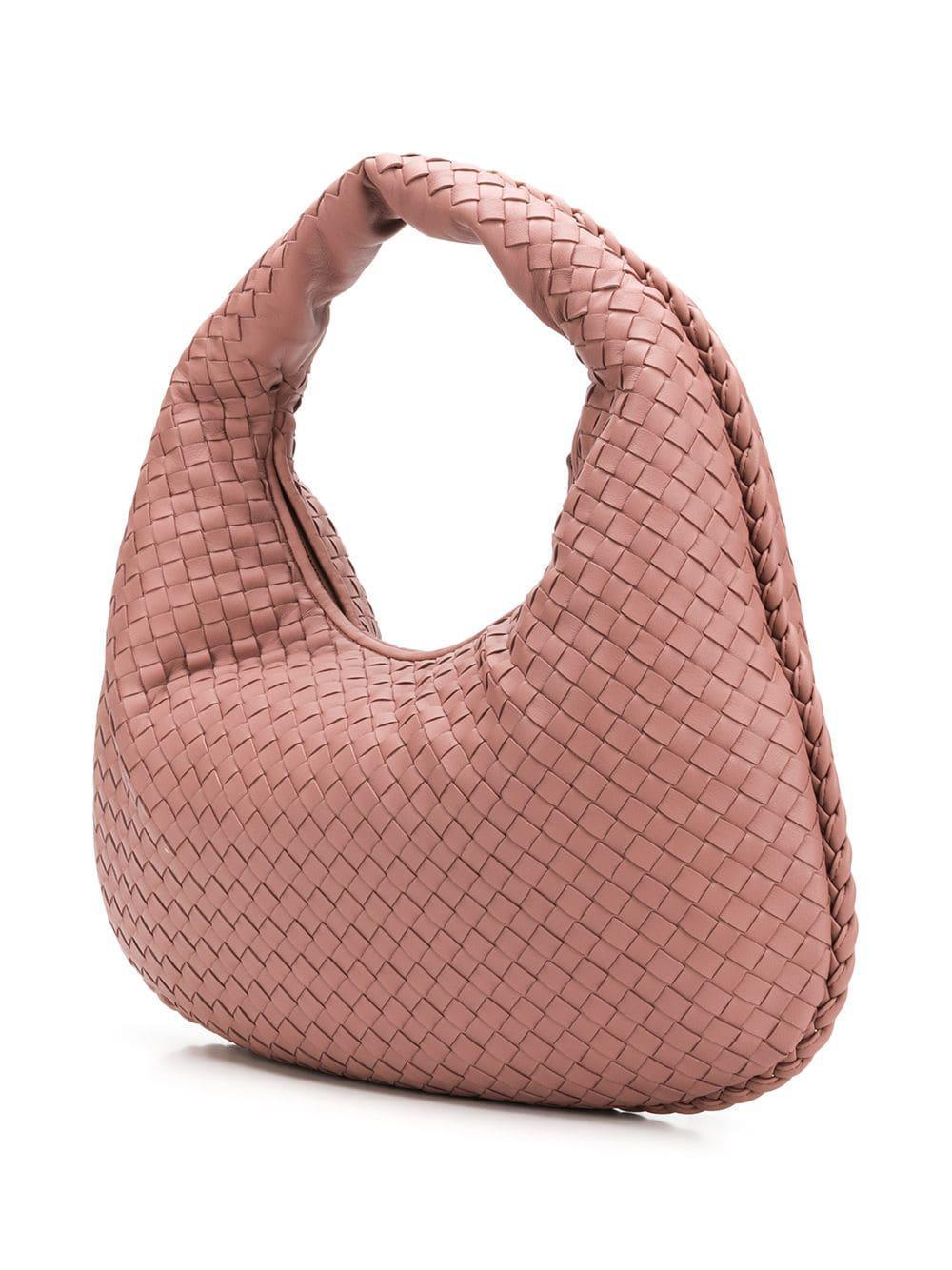 3c72d51bc8dd Lyst - Bottega Veneta Medium Veneta Bag in Pink