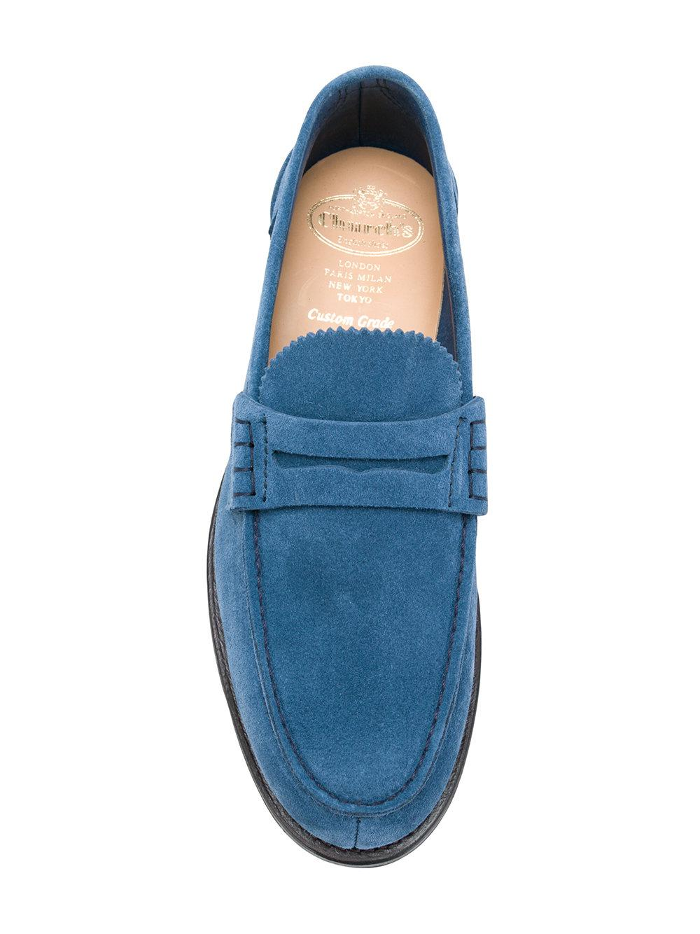 73ce86dfe97 Lyst - Church s Pembrey Penny Loafers in Blue for Men