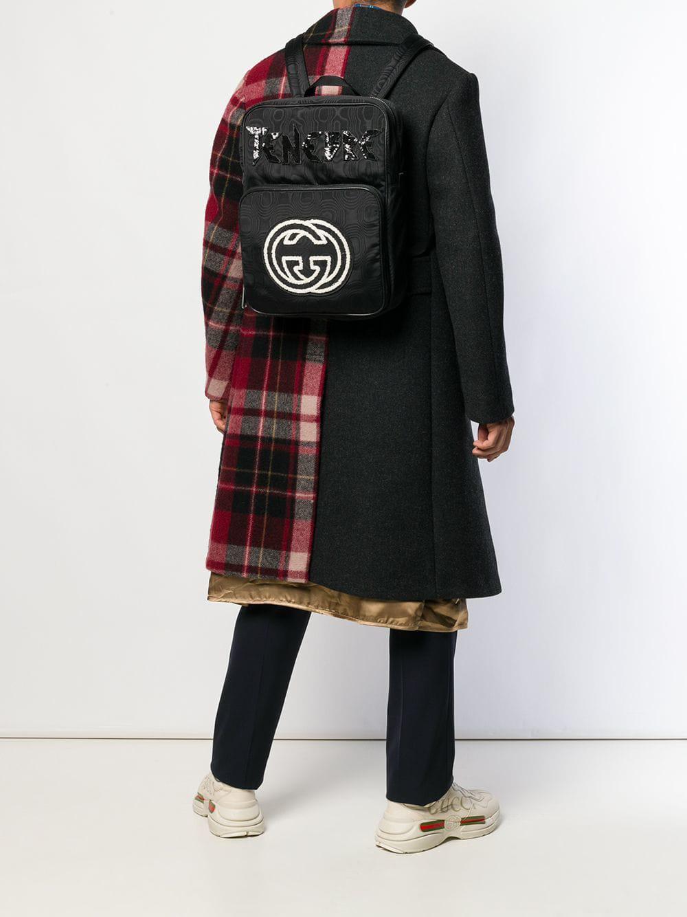 c45c1e62bfc Lyst - Gucci GG Logo Backpack in Black for Men