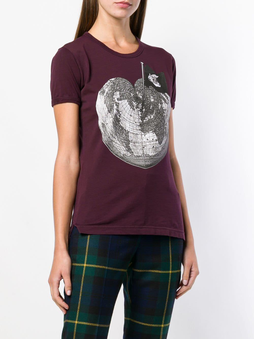 111c7565c Vivienne Westwood Anglomania Anglomania Short-sleeve T-shirt in Red ...