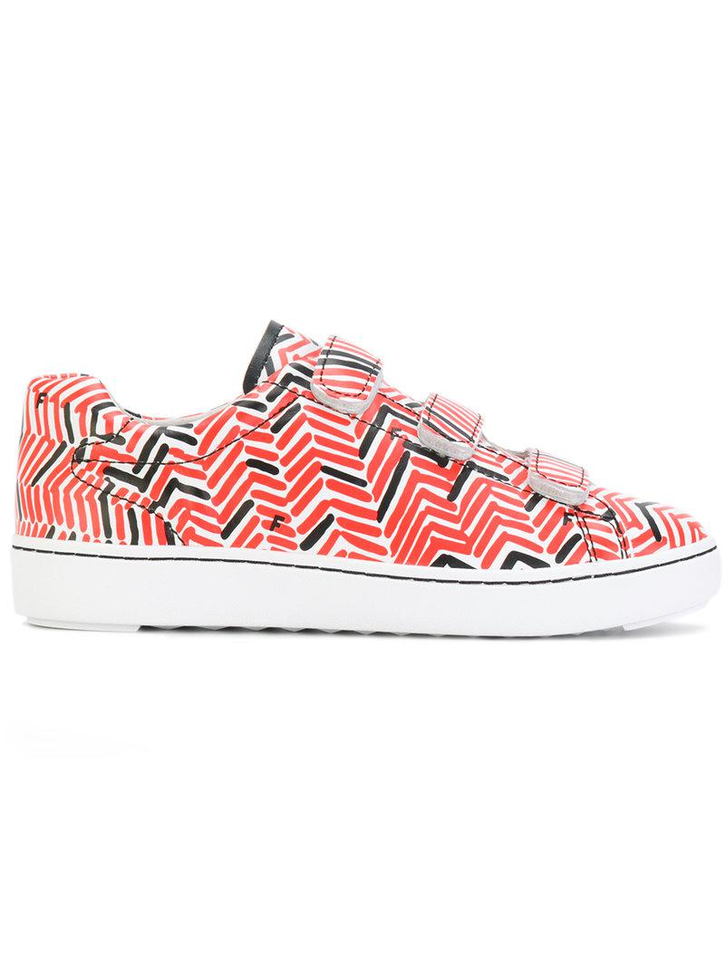 Ash Patterned touch strap sneakers OAwDQxRqZ