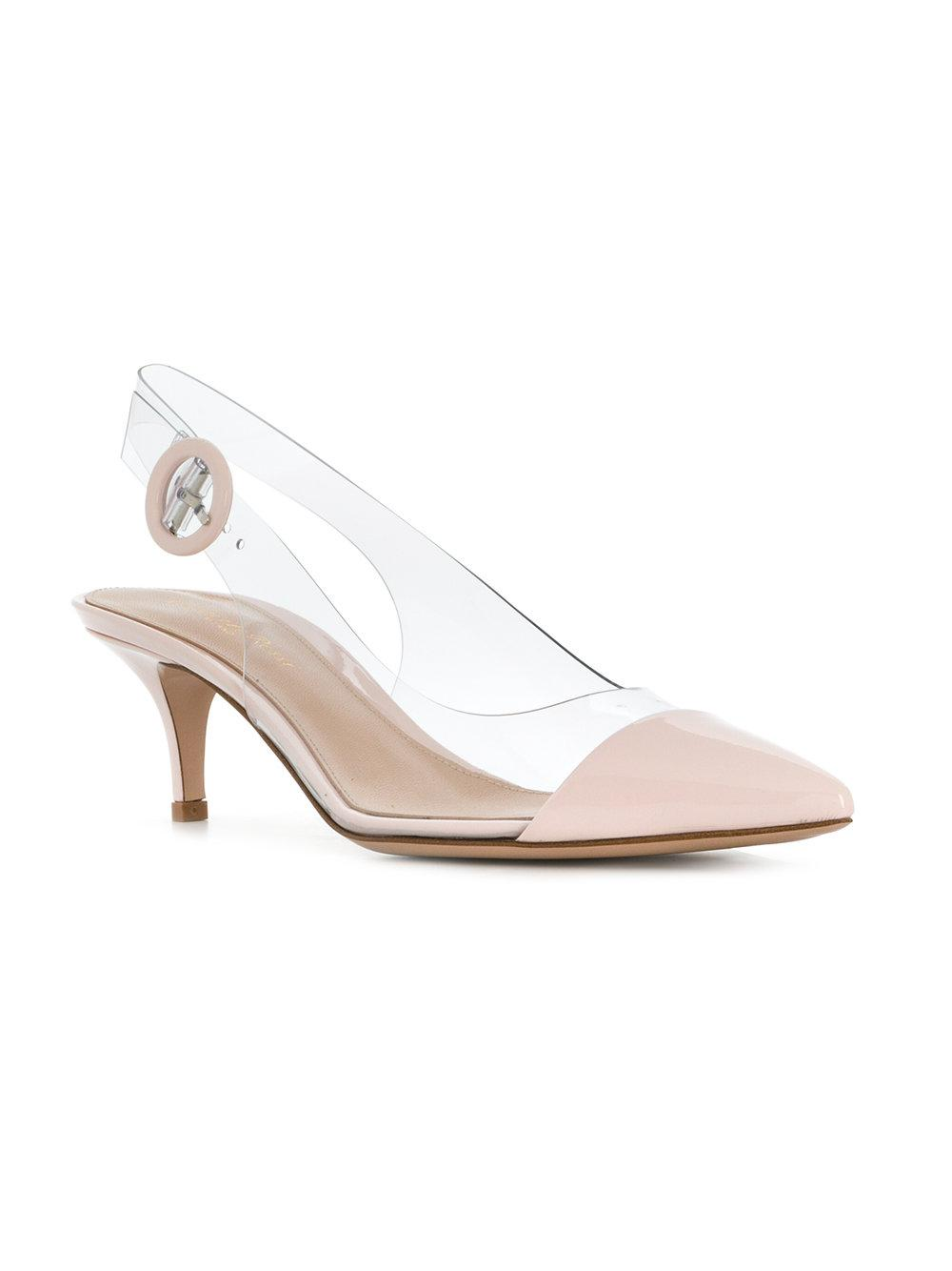 slingback pumps - Pink & Purple Gianvito Rossi 6cGHZ