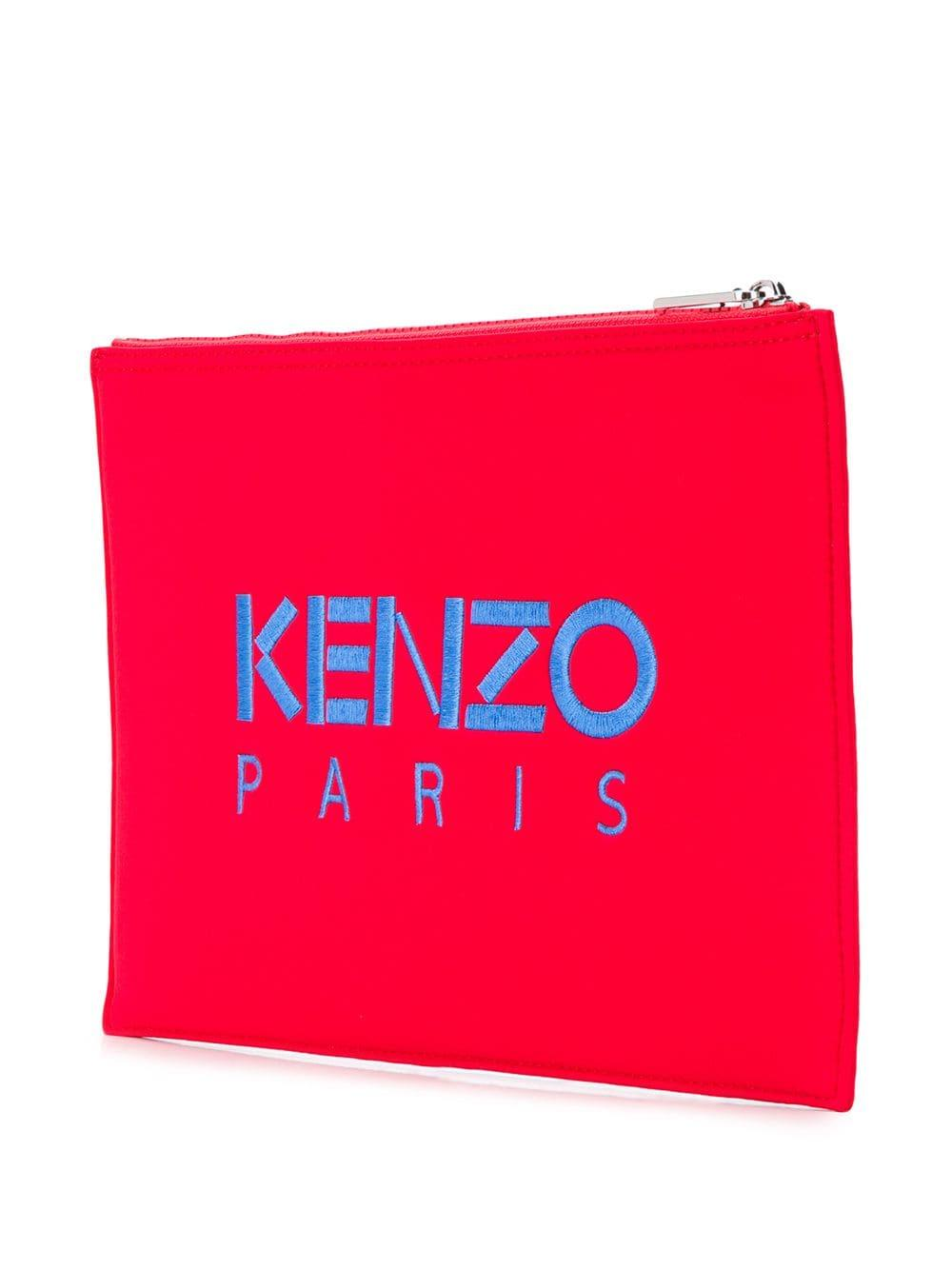 b4aa2e79 KENZO Tiger Clutch in Red for Men - Lyst