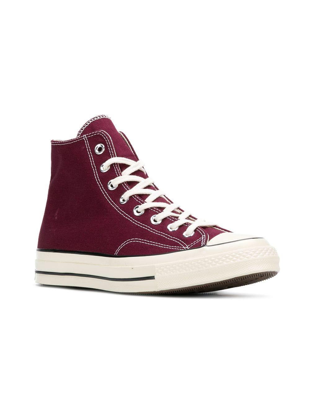 37cb4cb8f6a6 Converse Classic Hi-top Chuck 70 Sneakers in Red for Men - Lyst