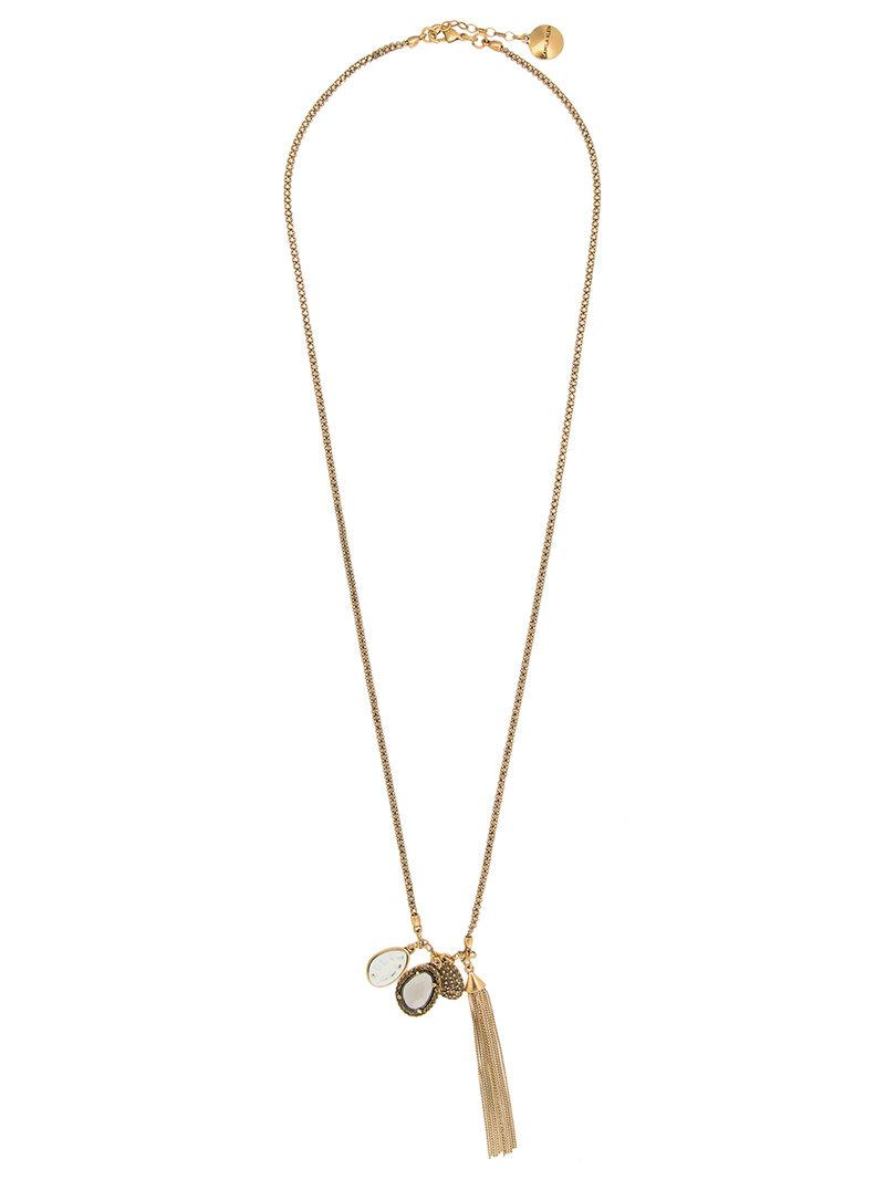 Camila Klein pendant long necklace - Metallic RKo8id