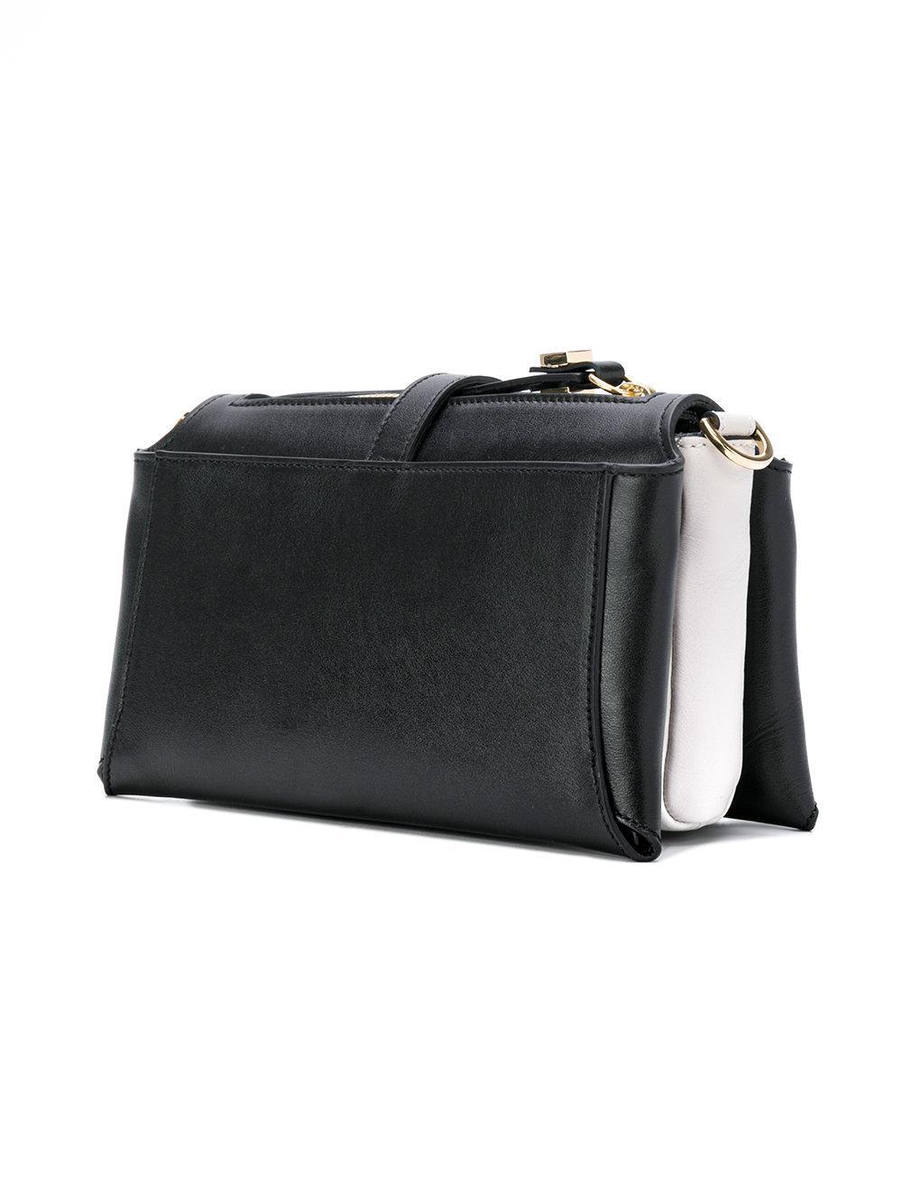 429b0da00cda Giancarlo Petriglia - Black Multiple Compartments Shoulder Bag - Lyst. View  fullscreen