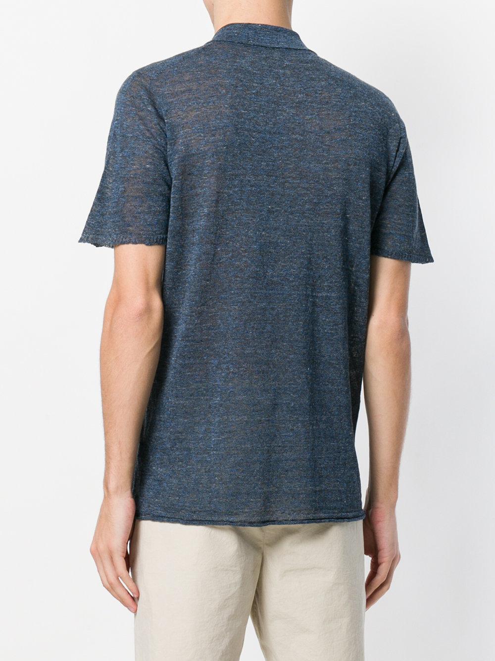 plain polo shirt - Blue Roberto Collina Best Prices Cheap Price BSLZp