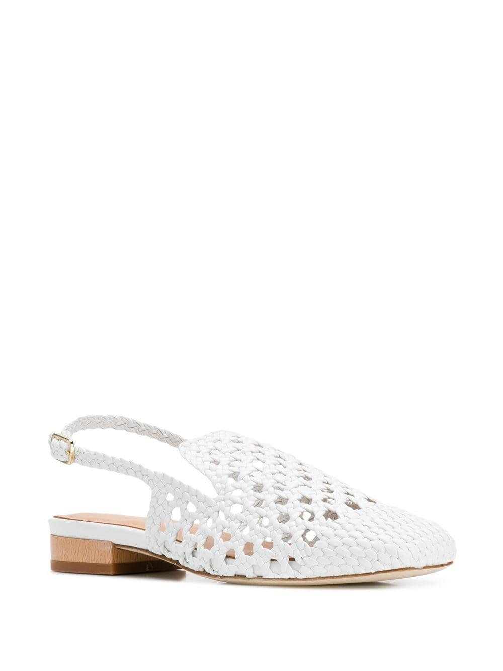 22b6c4dcdb6 Lyst - Paloma Barceló Alois Loafers in White