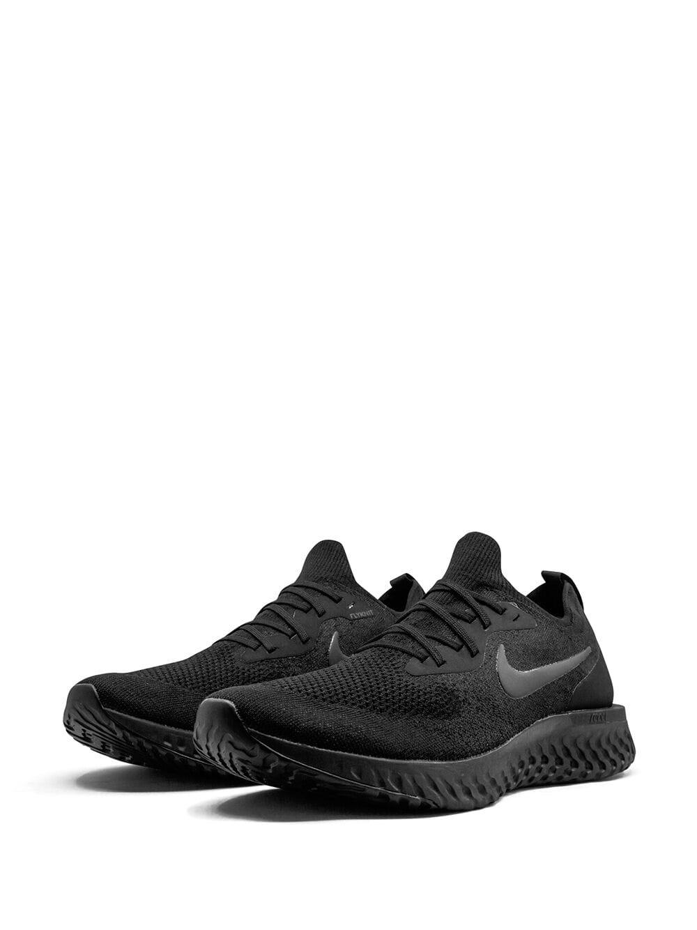 66f1927a202f Lyst - Nike Epic React Flyknit Trainers in Black for Men