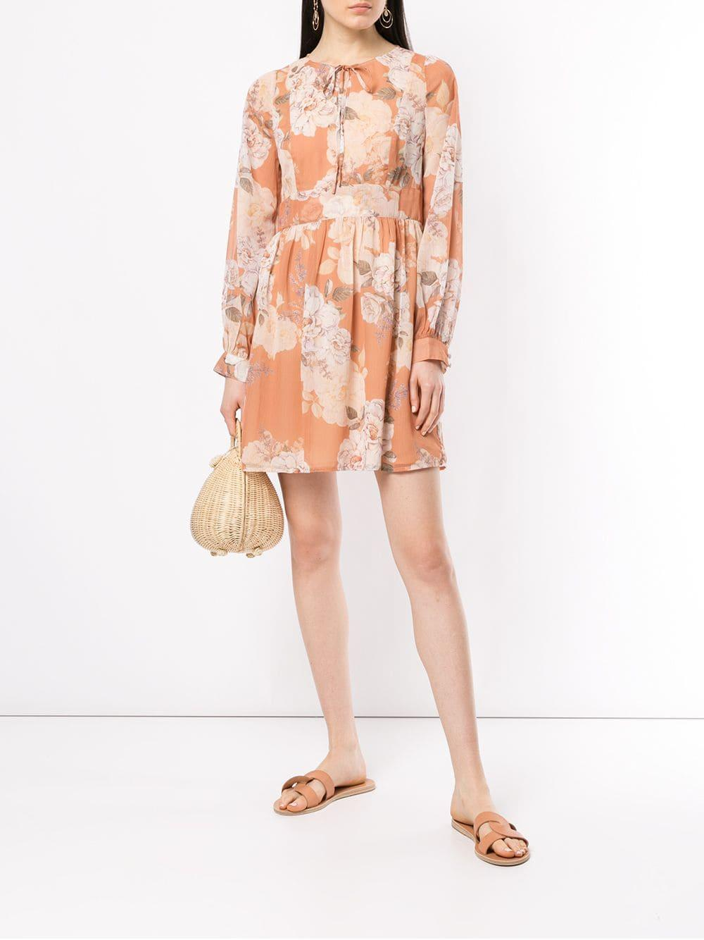Dress Are We Orange Mini Nellie In Kindred Lyst qIB71