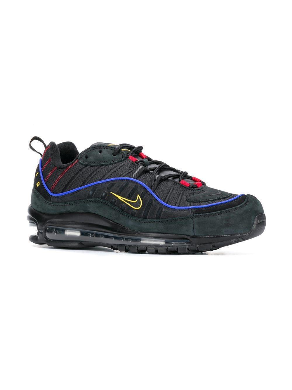431ad142fa3be7 Nike - Black Air Max 98 Sneakers for Men - Lyst. View fullscreen