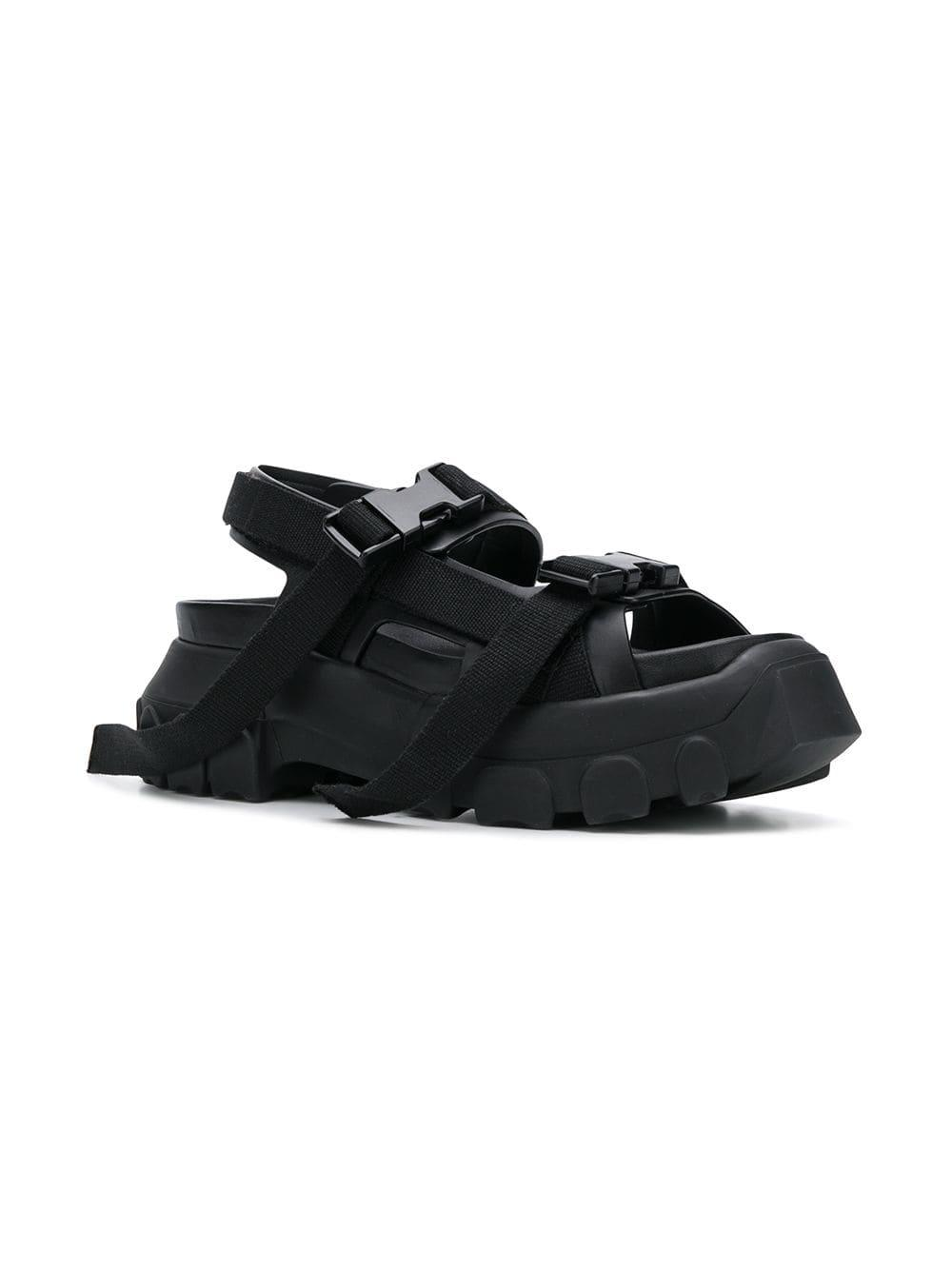 5c7c9be05ef3 Rick Owens Sisyphus Hiking Sandals in Black - Save 47% - Lyst