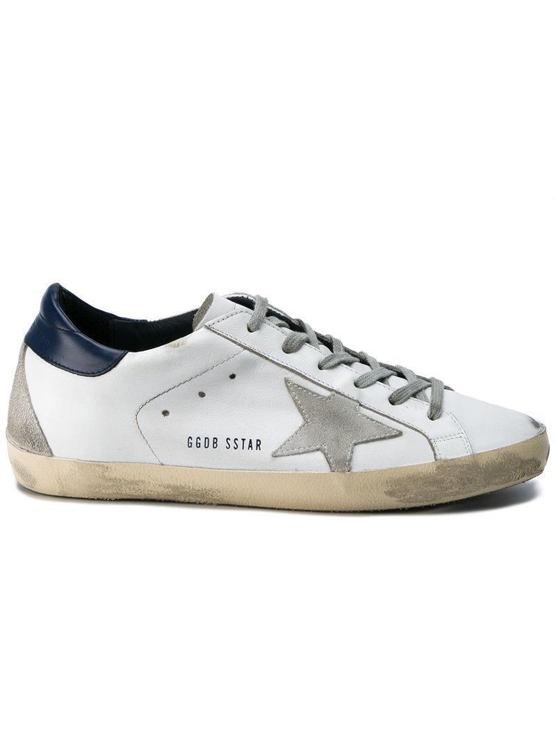 lyst golden goose deluxe brand superstar sneakers in white for men. Black Bedroom Furniture Sets. Home Design Ideas