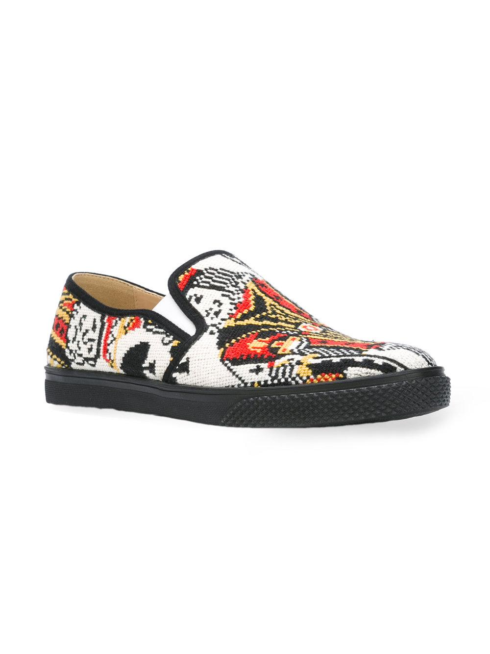 Stella Mccartney Slip Imprimé Sur Chaussures De Sport - Multicolor kPcVG60