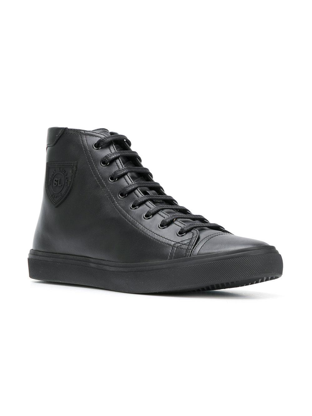 80b4dba3df7c4 Saint Laurent Bedford Sneakers in Black for Men - Lyst
