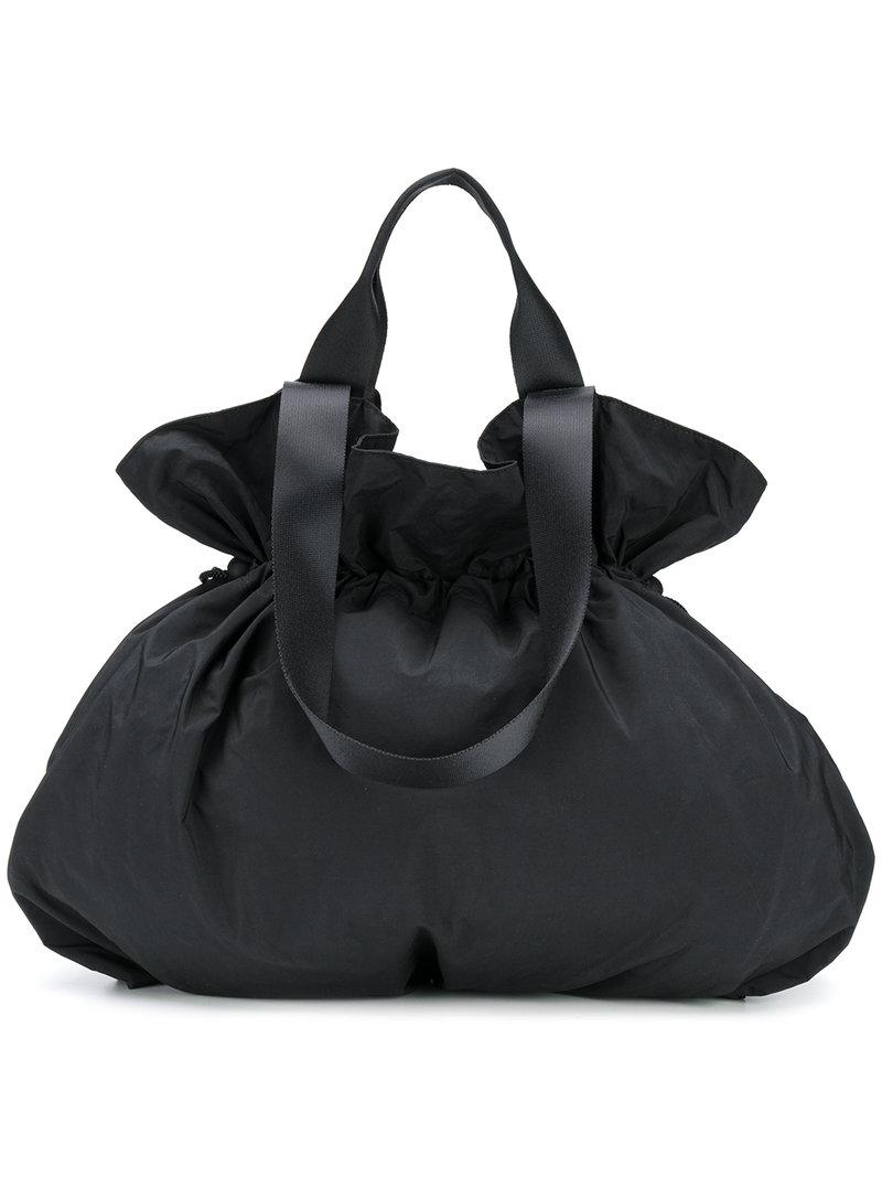 e8d2725a86 Lyst - Y s Yohji Yamamoto Pouch Tote Bag in Black