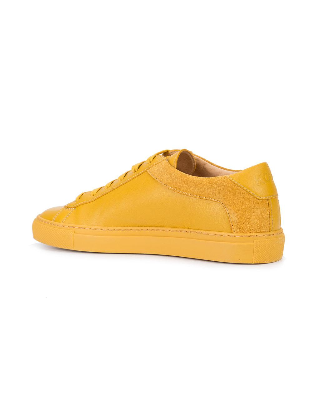 Capri Zafferano sneakers - Yellow & Orange KOIO tu5JfuJ