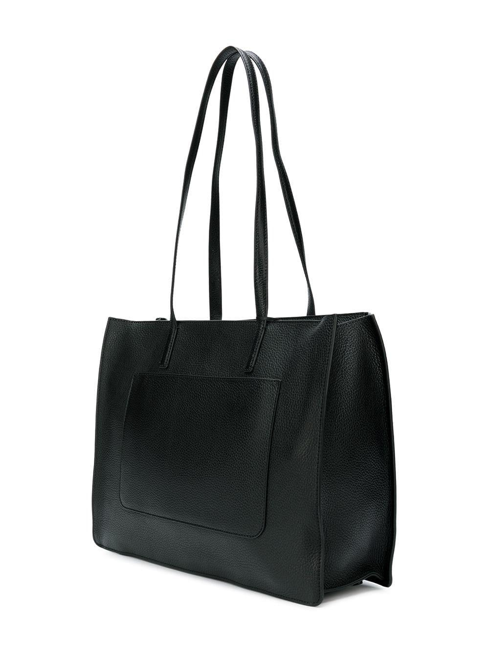 08b16284a DKNY Rectangular Shopper Bag in Black - Lyst