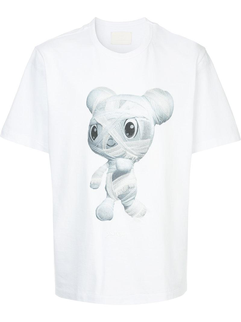Supply Cheap Online mummy print T-shirt - White Juun.J Clearance Visit Cost Explore Online Explore o5pYdSmcE8