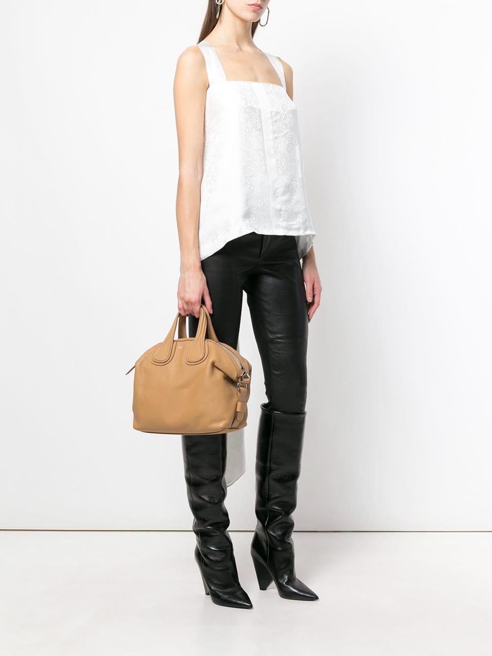 58836ae551 Lyst - Givenchy Small Nightingale Tote Bag