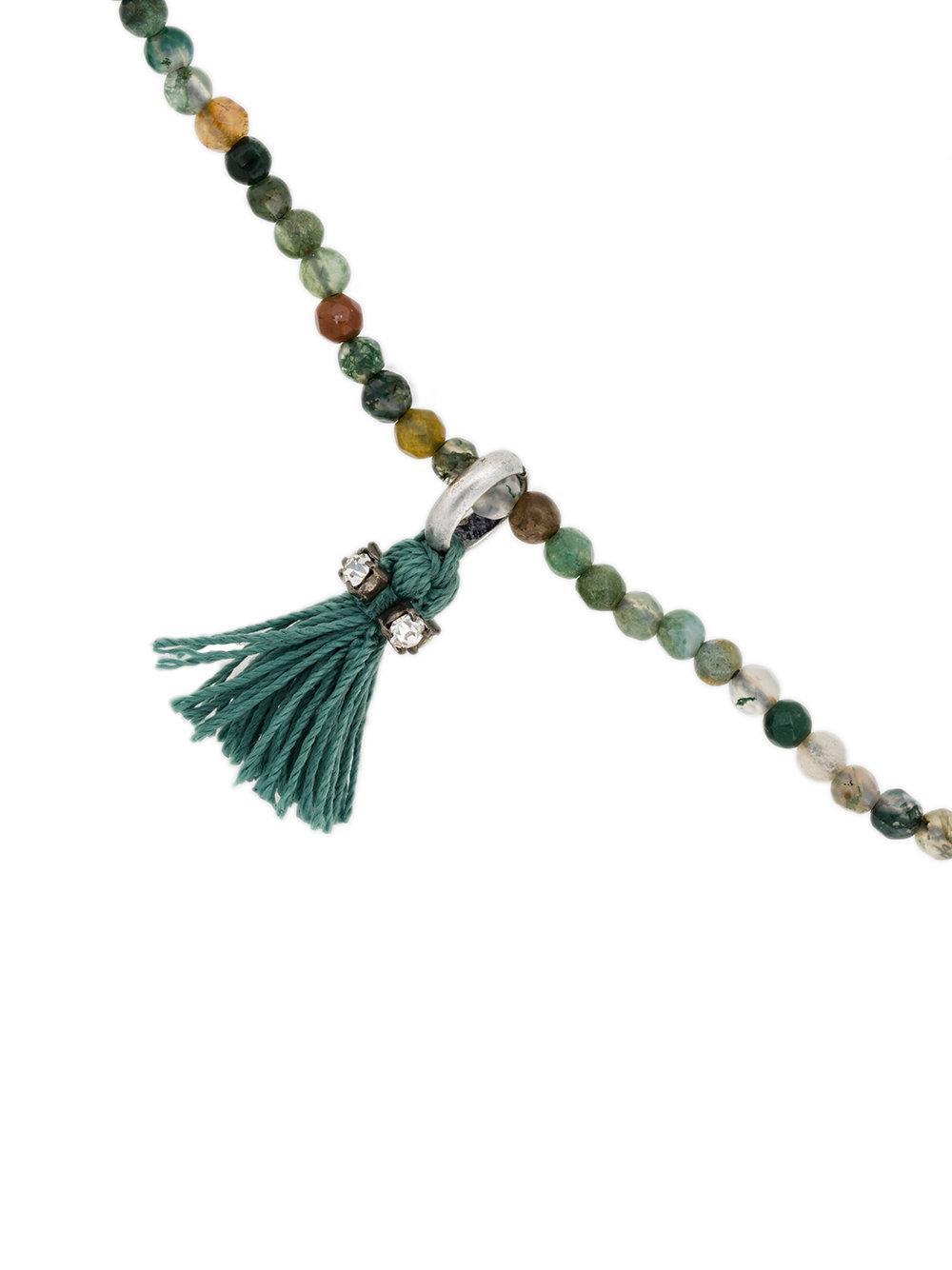 Rada tassel bead bracelet - Green ocQ7s