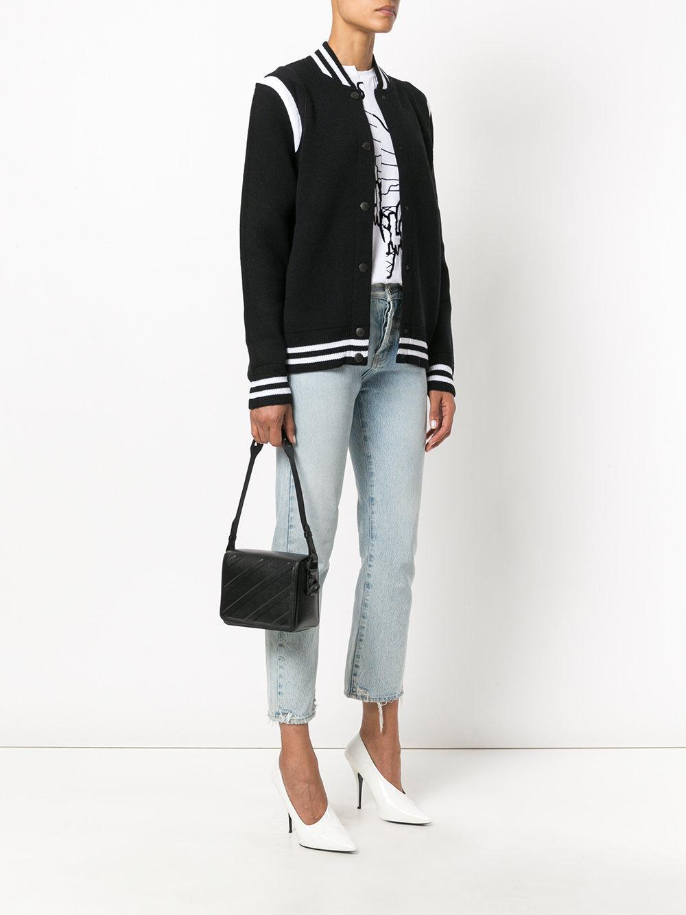 OFF-WHITE Diag padded flap bag X15Ulc