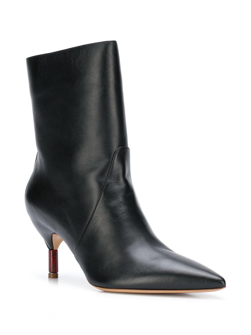 4e3b8219a15 Lyst - Gabriela Hearst Mariana Ankle Boots in Black - Save 31%