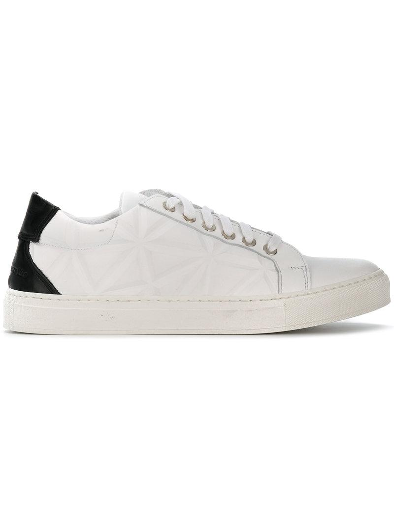 FRANKIE MORELLO 3D Effect low top sneakers 1pgklBmvI
